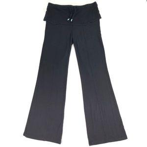 Anthro Saturday Sunday M Black Lounge Pant Stretch